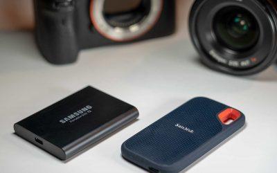 Mobile SSD-Festplatten