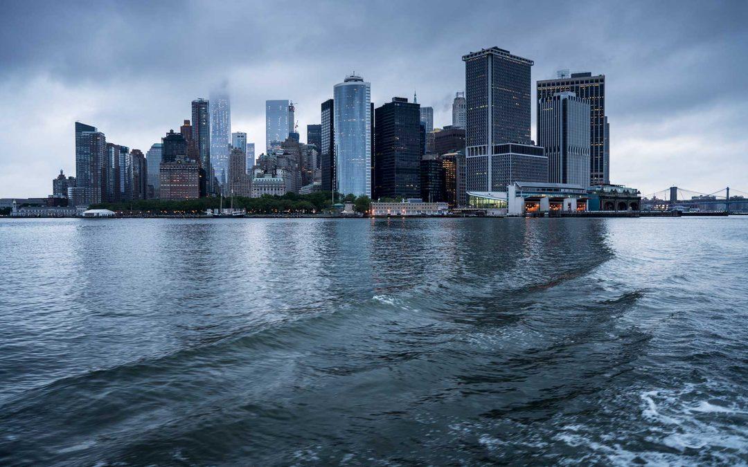 Ein Blick auf Manhattan