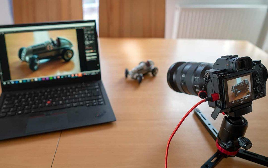 Tethering Shooting mit einer Sony Alpha 7R III