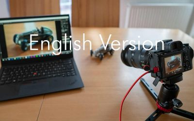 Tethering shooting with a Sony Alpha 7R3